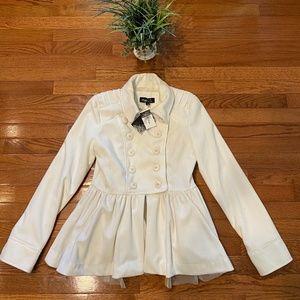 Rue21 | Military Skirted Pea Coat | NWT